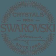 Realizado con cristales Swarovski